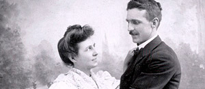 Mary Estelle Lansinger and Joseph H. Welty