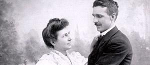Mary Estelle Lansinger and Joseph H. Welty